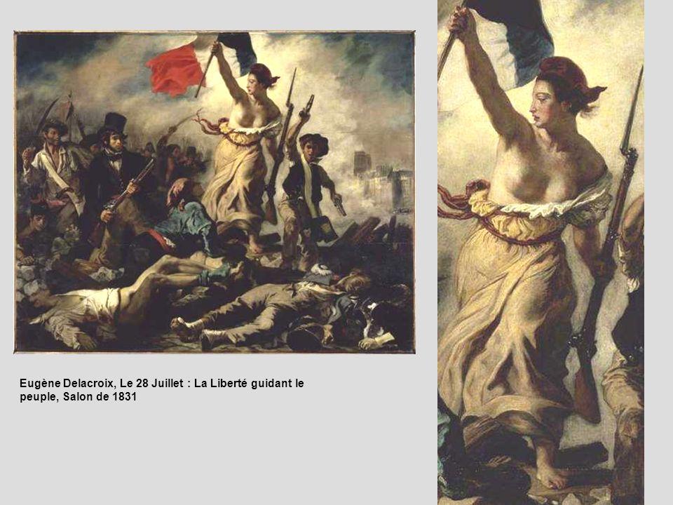 Le 28 Juillet. La Liberté guidant le peuple (28 juillet 1830)