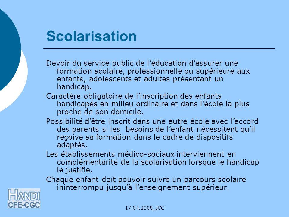 Scolarisation