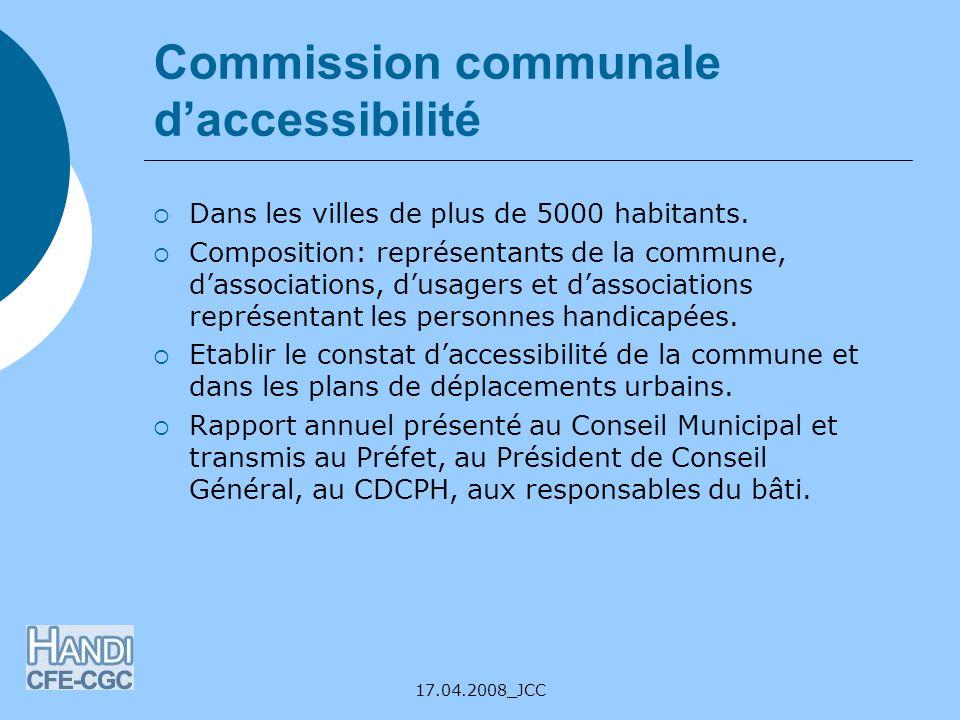 Commission communale d'accessibilité