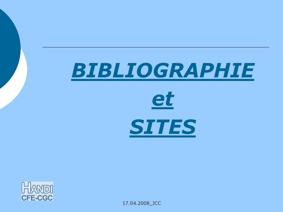 BIBLIOGRAPHIE et SITES