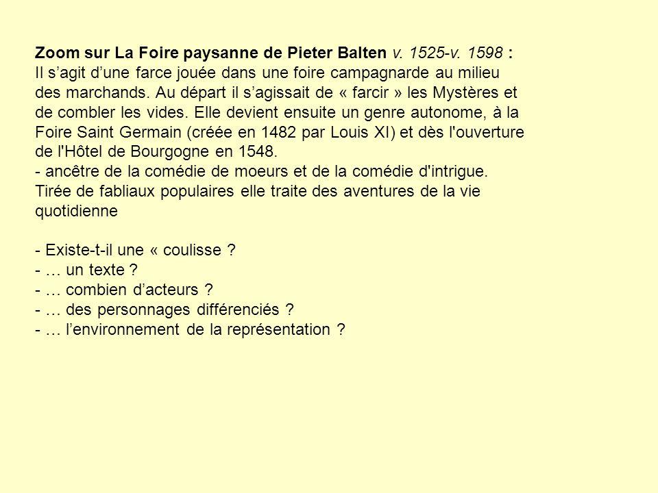 Zoom sur La Foire paysanne de Pieter Balten v. 1525-v. 1598 :