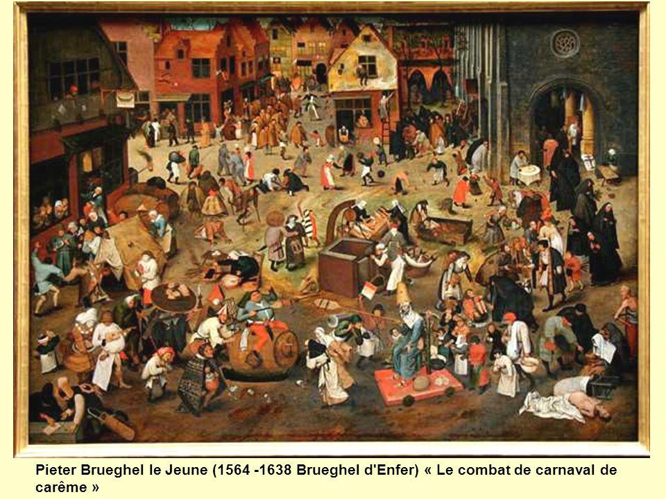 Cette peinture à l huile sur bois, peinte par Bruegel l Ancien en 1559, mesure 118 cm de haut sur 164,5 cm de long. Elle est conservée au Kunsthistorisches Museum de Vienne.