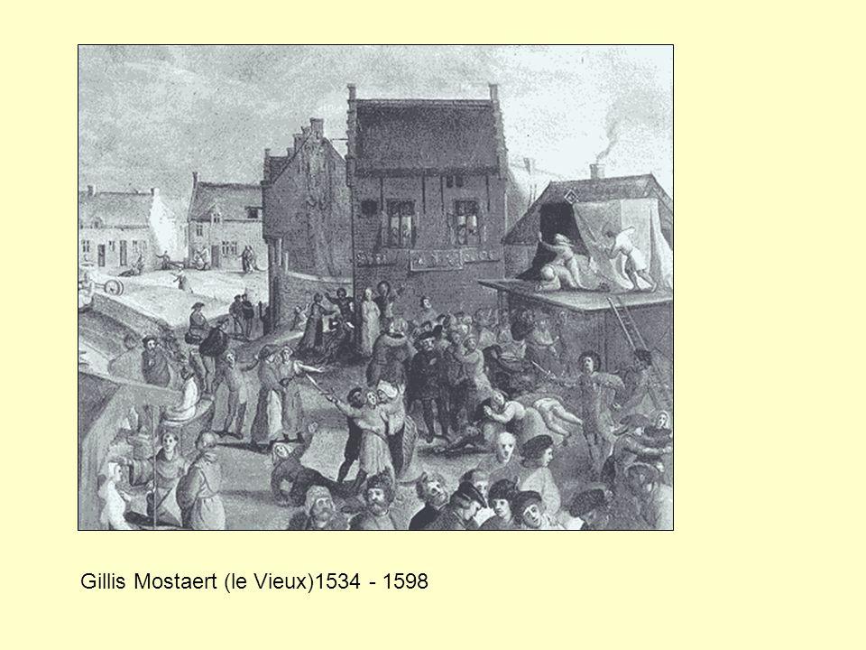 Gillis Mostaert (le Vieux)1534 - 1598