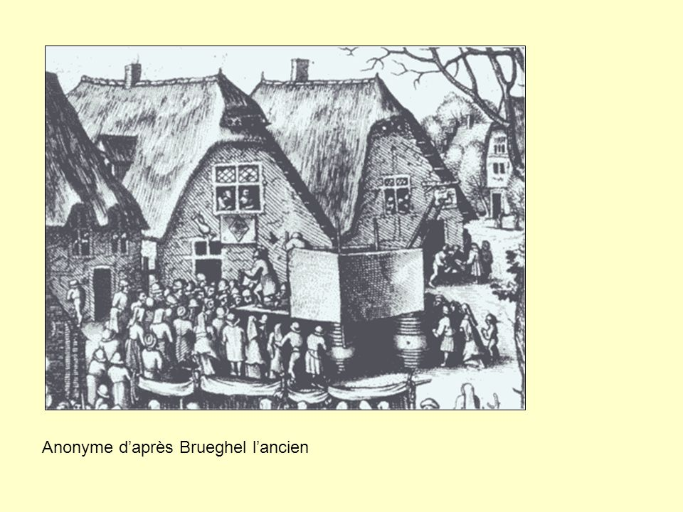 Anonyme d'après Pieter Bruegel, Amsterdam