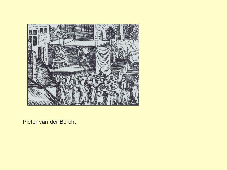 Pieter van der Borcht, Grote Vlaamse Jaarmarkt