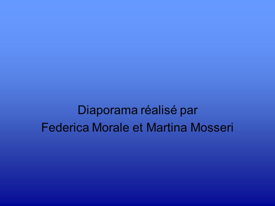 Federica Morale et Martina Mosseri