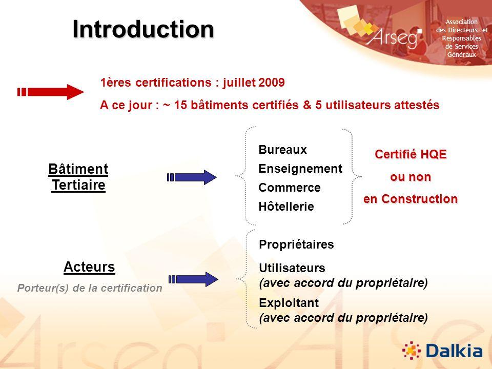 Porteur(s) de la certification