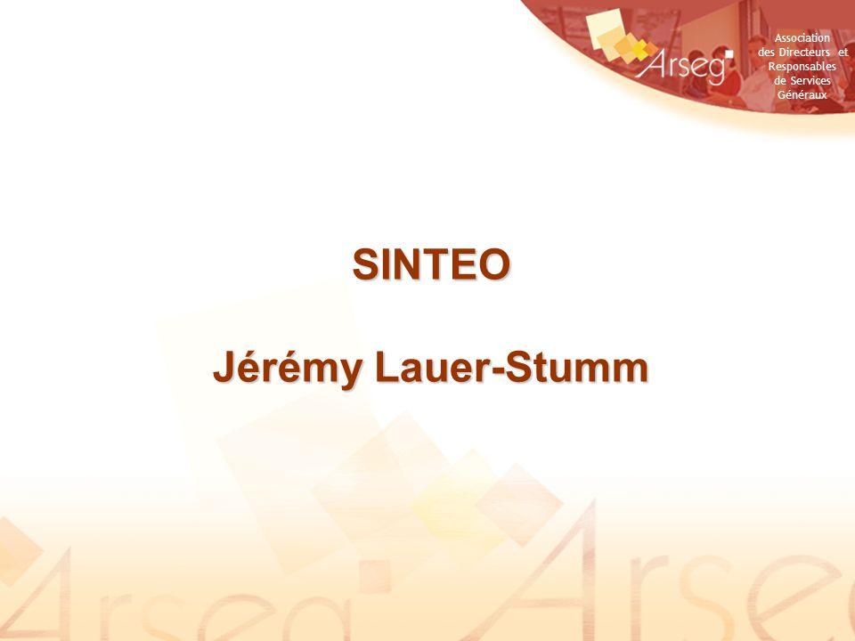 SINTEO Jérémy Lauer-Stumm