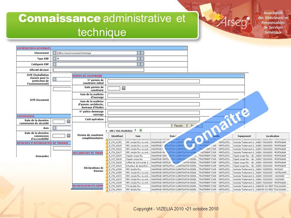 Connaissance administrative et technique