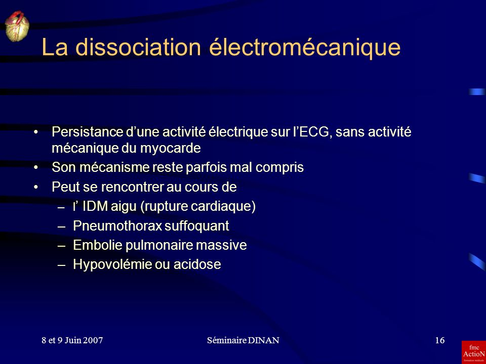 La dissociation électromécanique