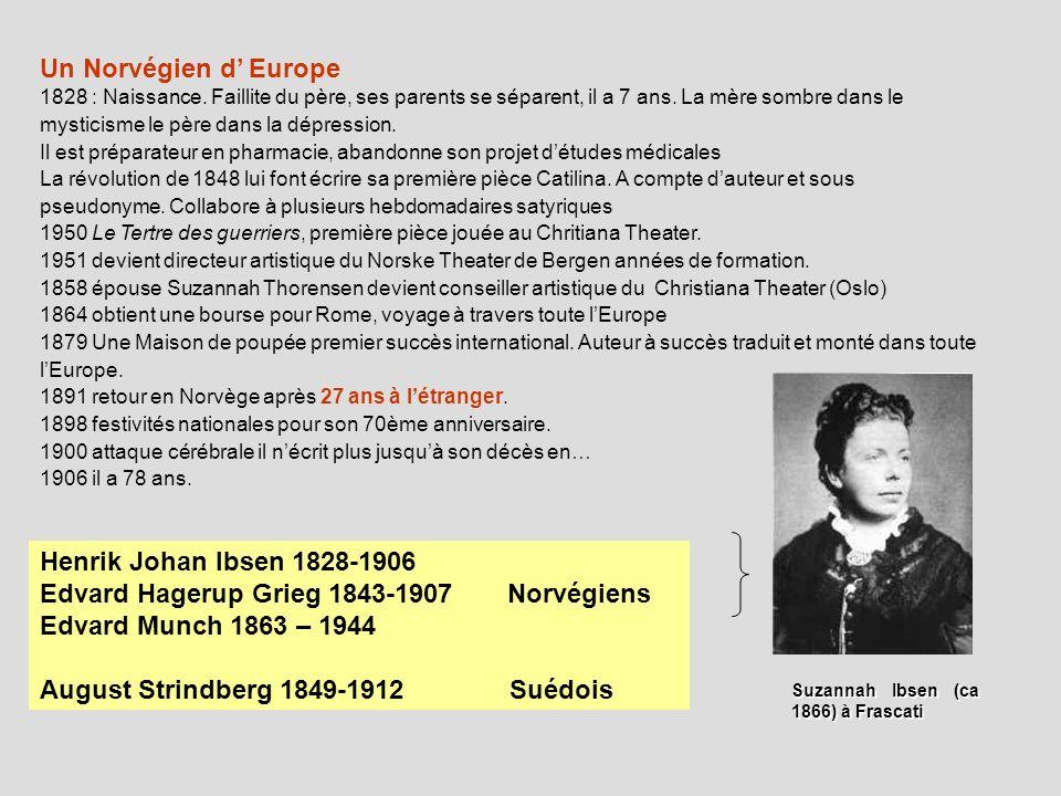 Edvard Hagerup Grieg 1843-1907 Norvégiens Edvard Munch 1863 – 1944