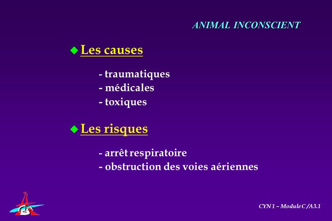 Les causes Les risques - médicales - toxiques