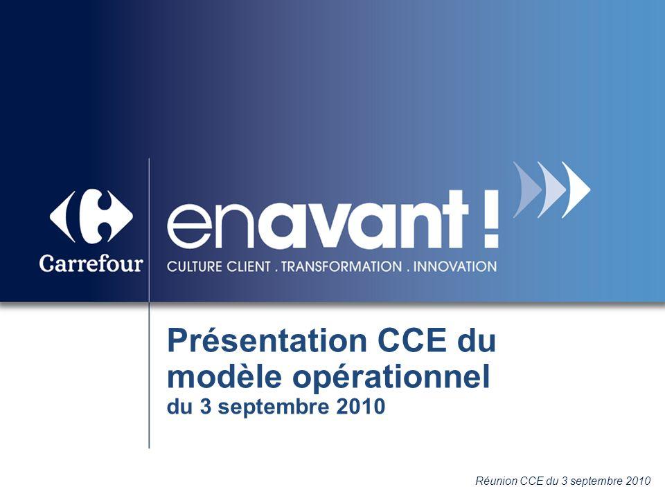 Présentation CCE du modèle opérationnel du 3 septembre 2010