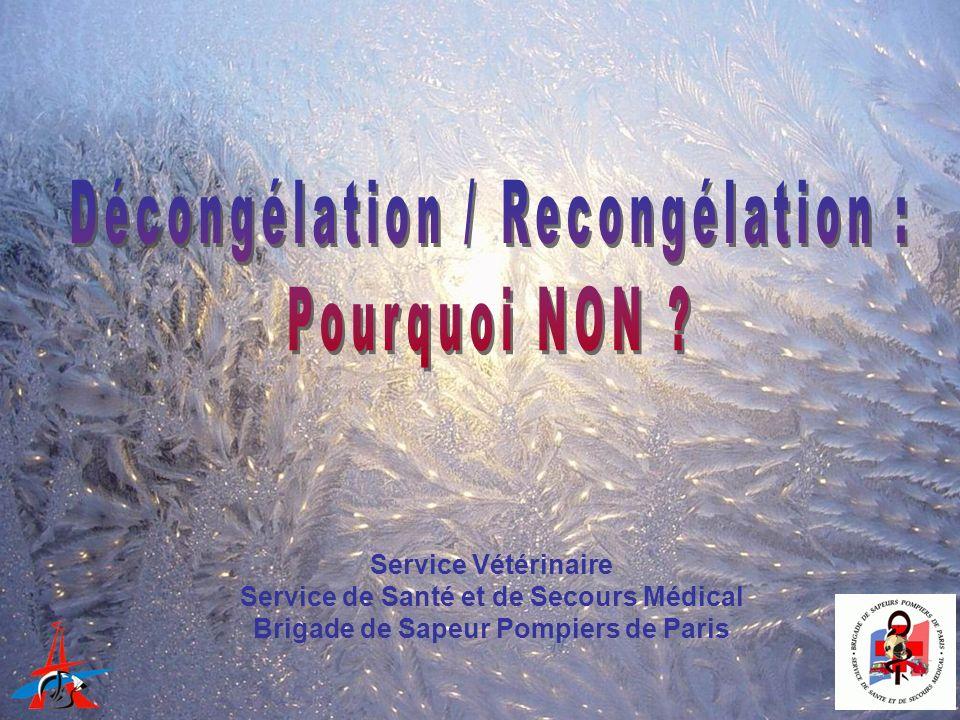 Décongélation / Recongélation : Pourquoi NON