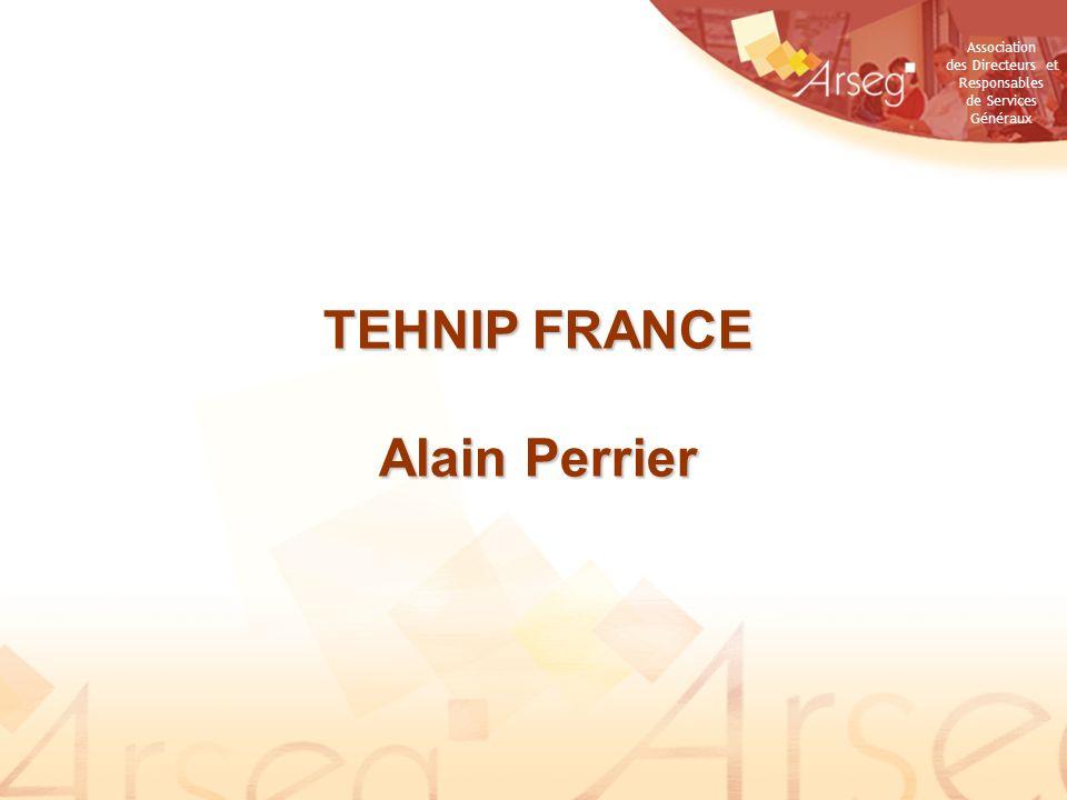 TEHNIP FRANCE Alain Perrier