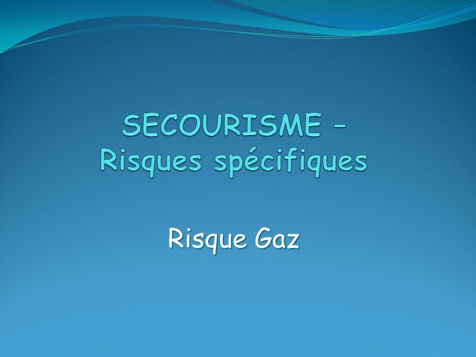 SECOURISME – Risques spécifiques