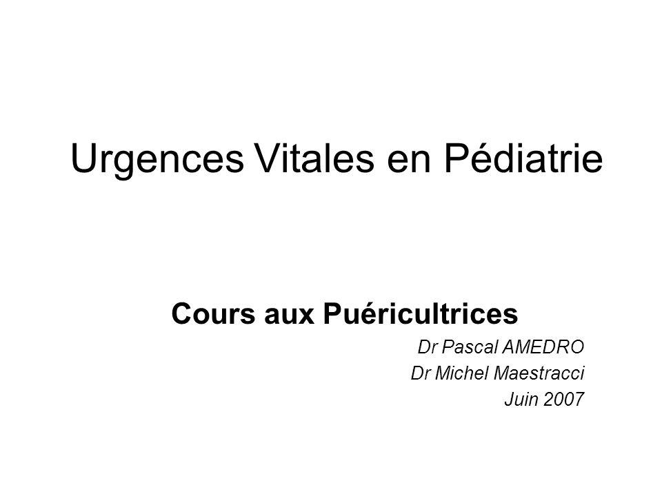 Urgences Vitales en Pédiatrie