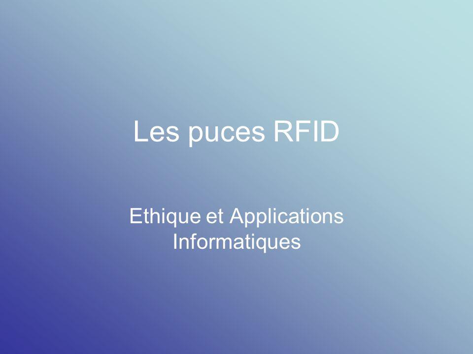Ethique et Applications Informatiques