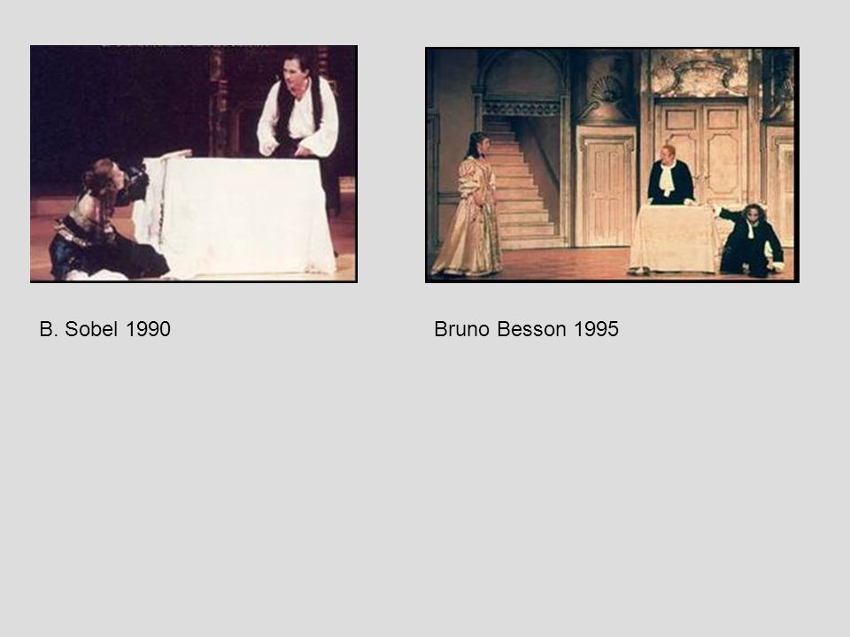 B. Sobel 1990 Bruno Besson 1995