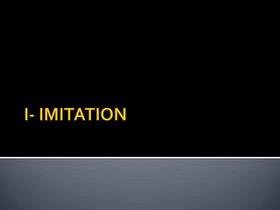 I- IMITATION