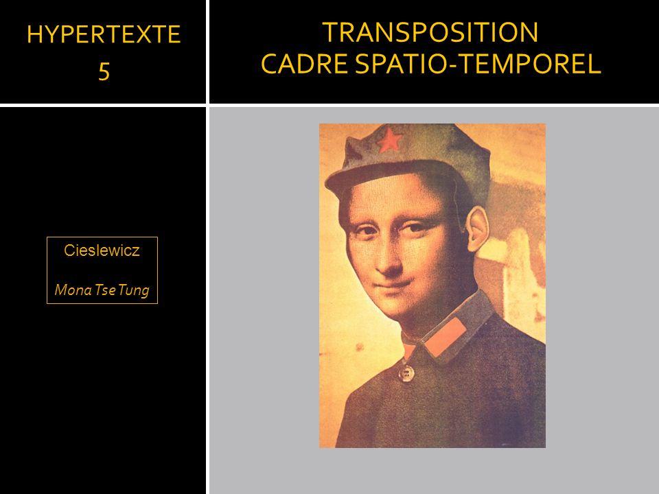 CADRE SPATIO-TEMPOREL