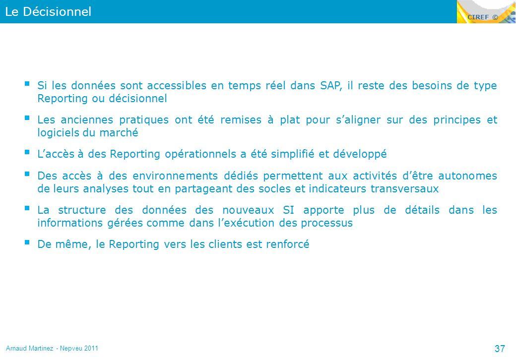 Le Décisionnel Arnaud Martinez - Nepveu 2011 37
