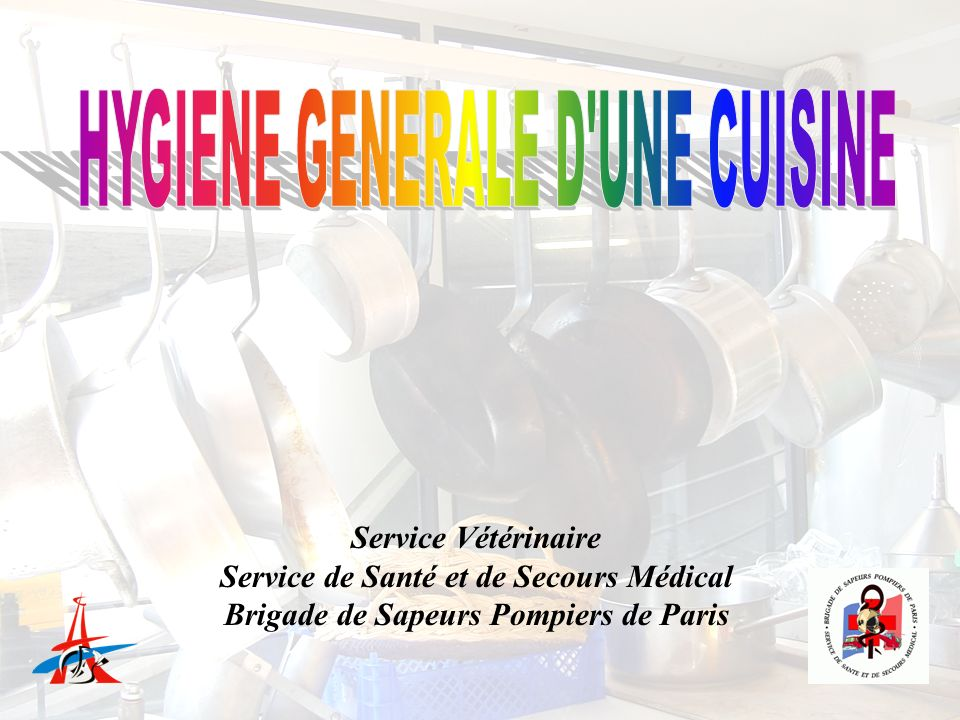 Hygiene generale d 39 une cuisine ppt video online t l charger for Service veterinaire cuisine