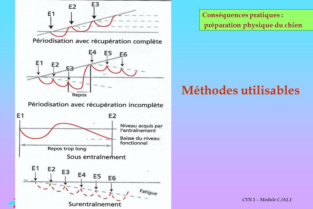 Méthodes utilisables Conséquences pratiques :