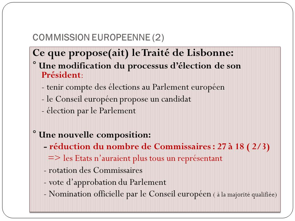 COMMISSION EUROPEENNE (2)