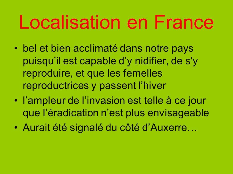 Localisation en France