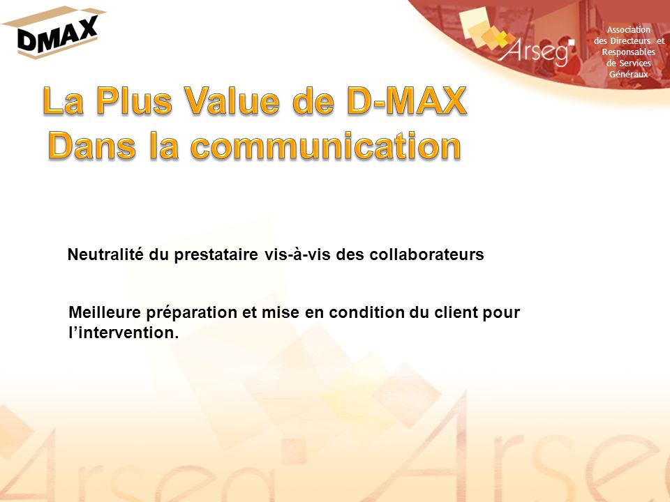 La Plus Value de D-MAX Dans la communication
