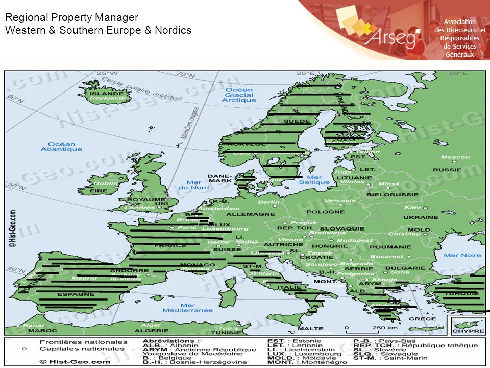 Regional Property Manager Western & Southern Europe & Nordics