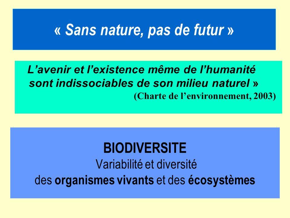 « Sans nature, pas de futur »