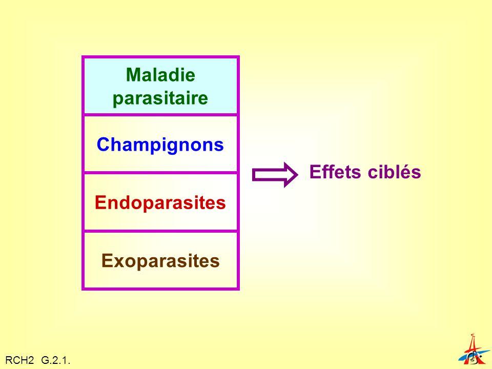 Maladie parasitaire Champignons Endoparasites Exoparasites