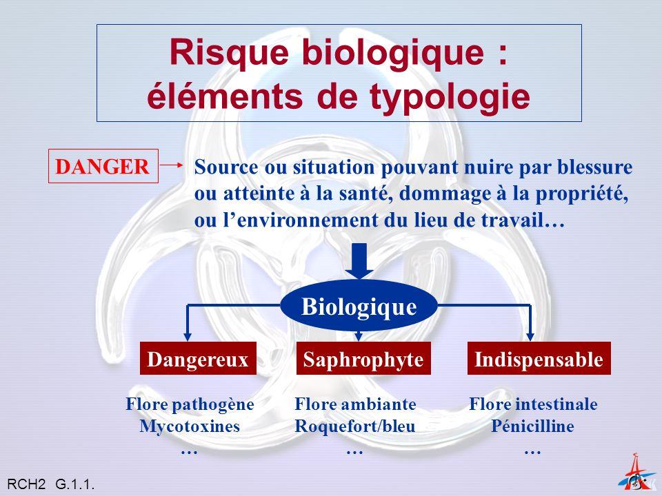 Risque biologique : éléments de typologie