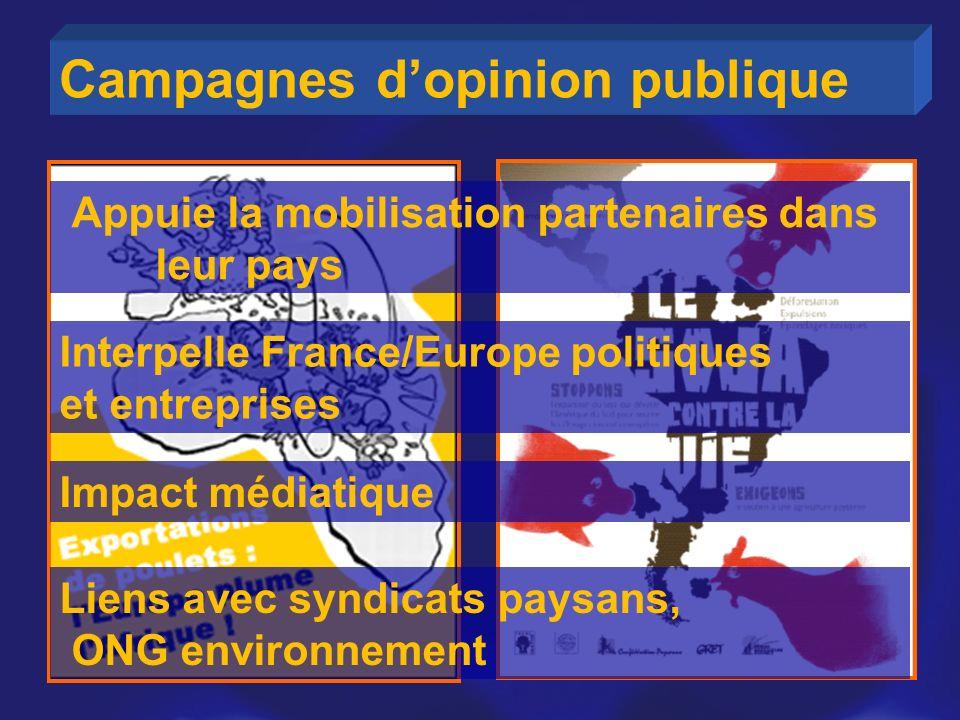 Campagnes d'opinion publique