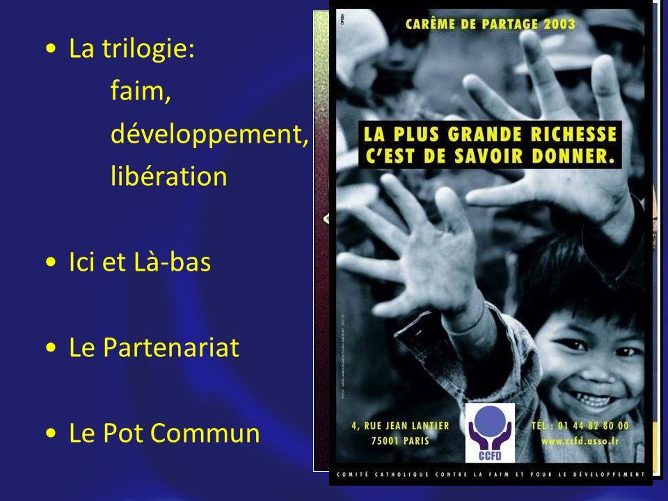 Les Fondements La trilogie: faim, développement, libération