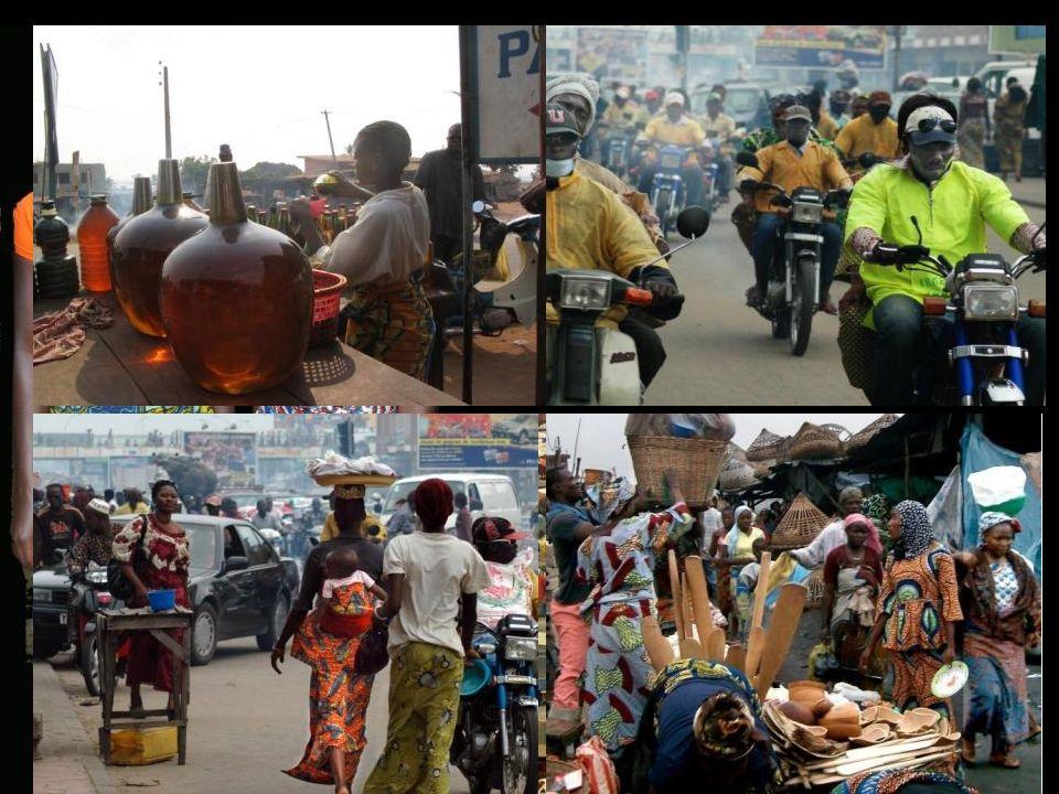 Administrative 250 000 h Capitale Porto Novo Cotonou Economique 800 000 h