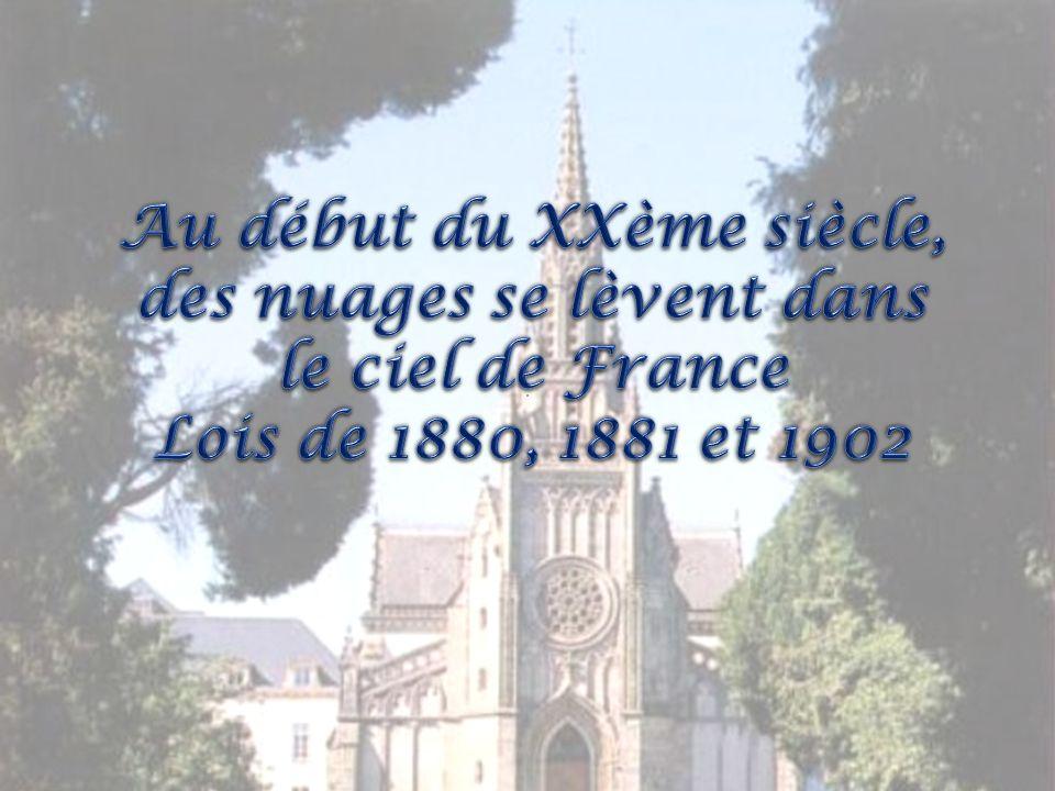 Au début du XXème siècle, des nuages se lèvent dans le ciel de France