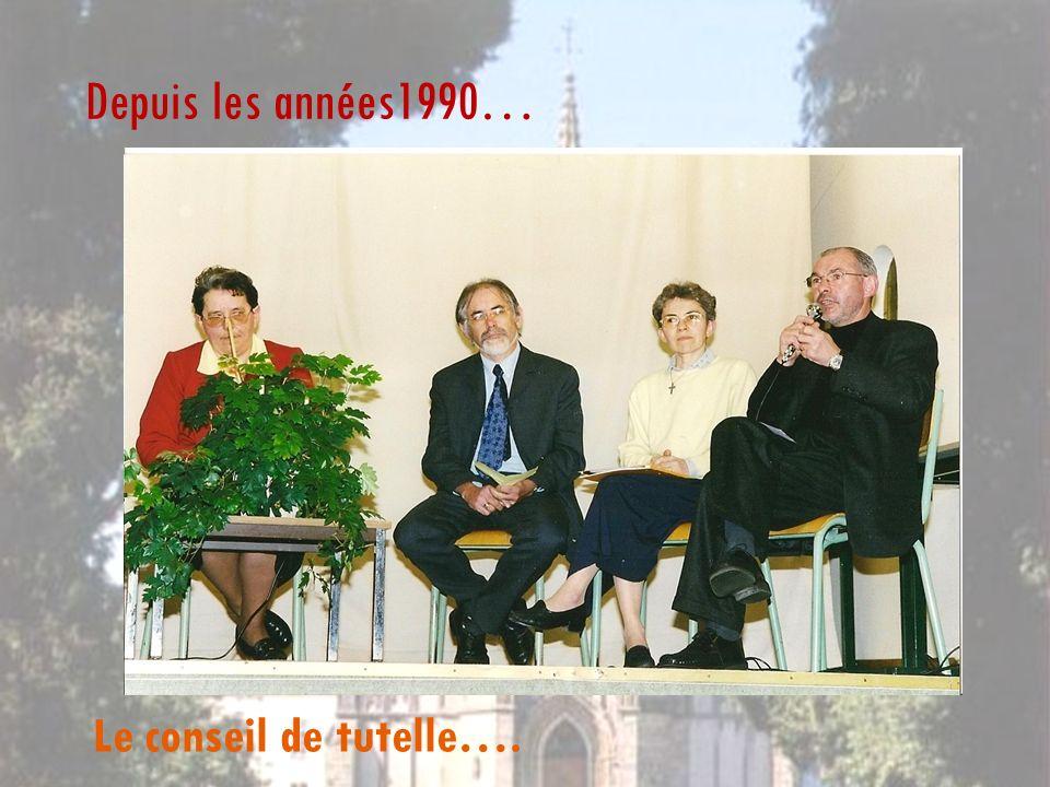 Depuis les années1990… Le conseil de tutelle….