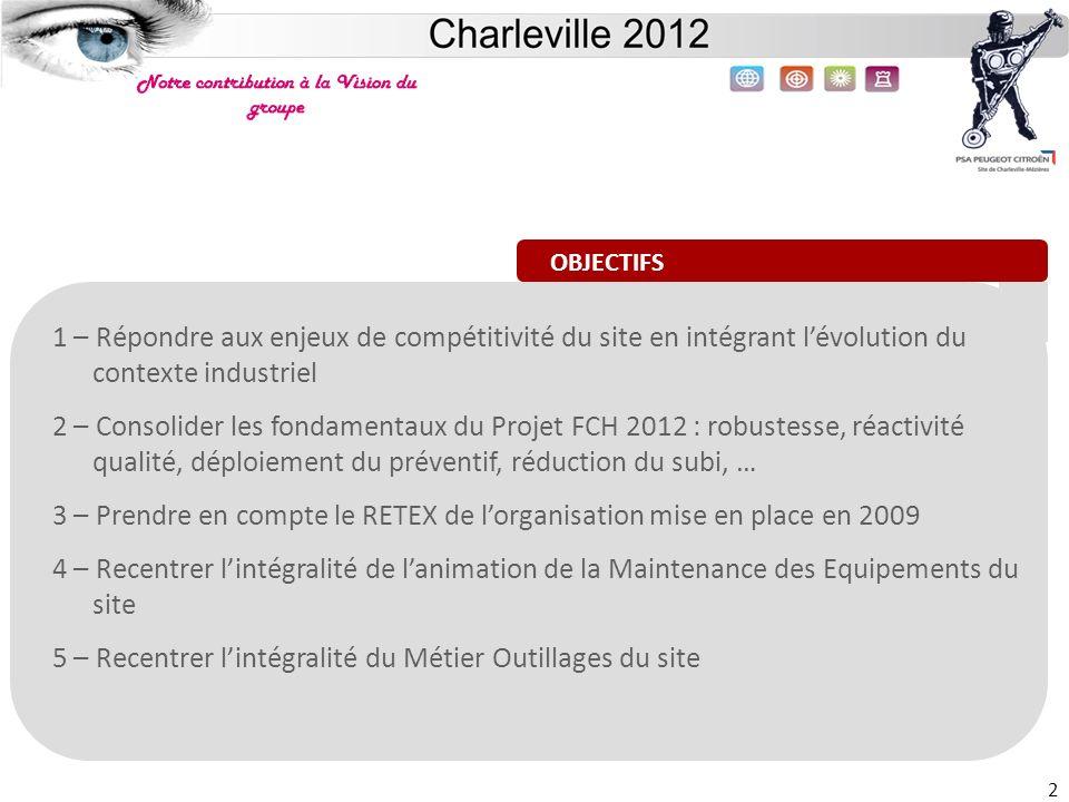 3 – Prendre en compte le RETEX de l'organisation mise en place en 2009