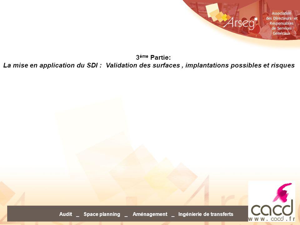 Audit _ Space planning _ Aménagement _ Ingénierie de transferts