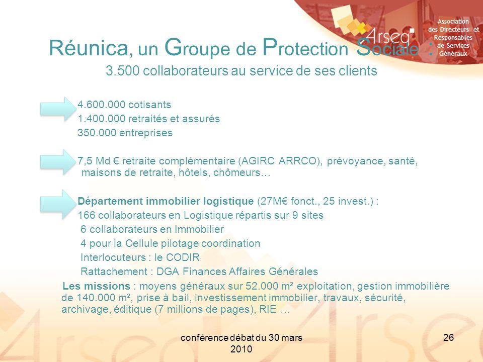 Réunica, un Groupe de Protection Sociale :