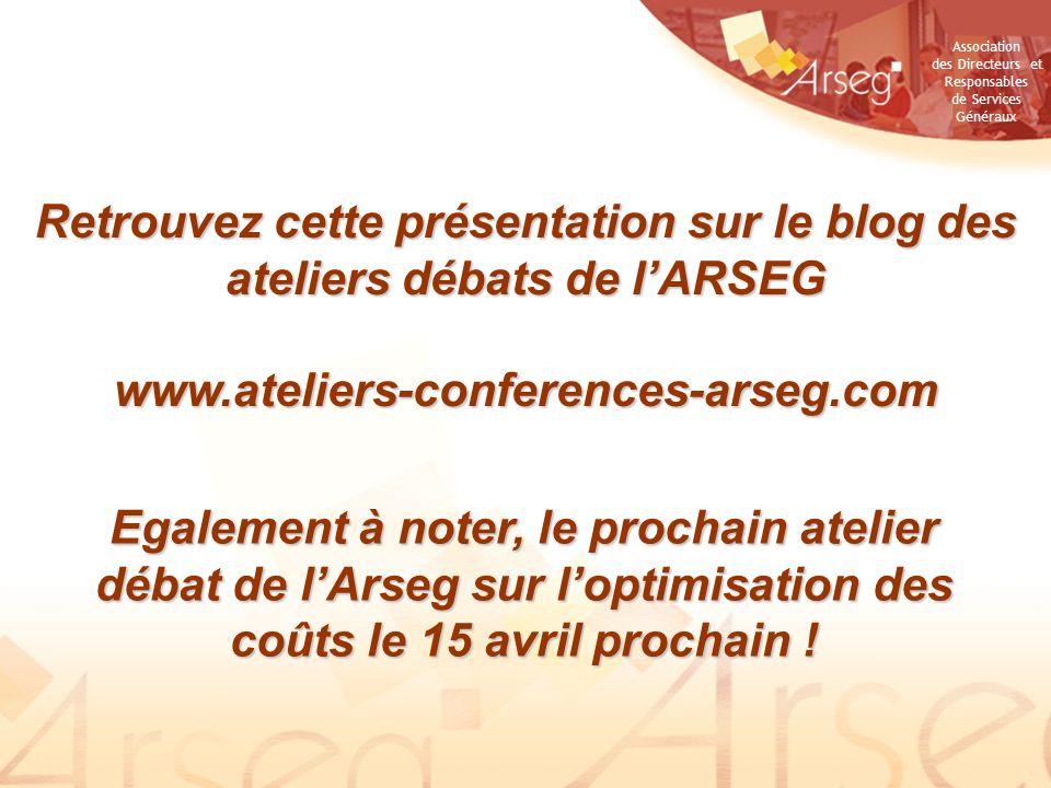 Retrouvez cette présentation sur le blog des ateliers débats de l'ARSEG