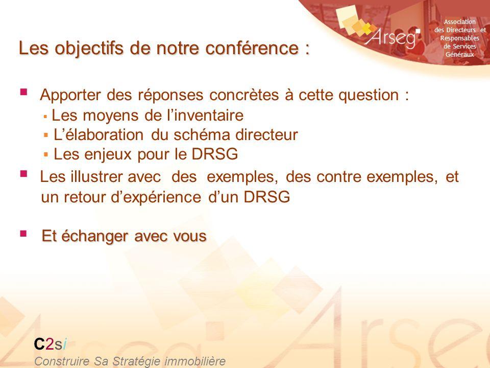 Les objectifs de notre conférence :