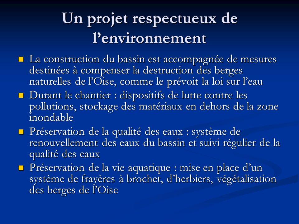 Un projet respectueux de l'environnement