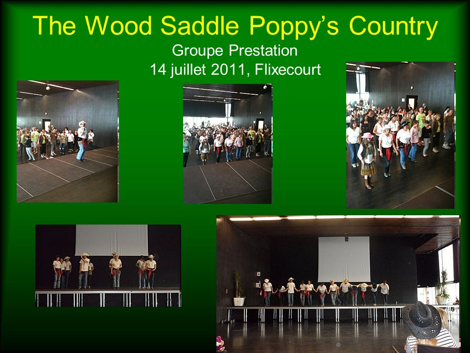 The Wood Saddle Poppy's Country Groupe Prestation 14 juillet 2011, Flixecourt