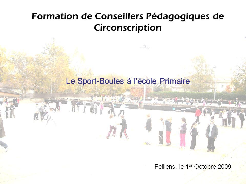 Formation de Conseillers Pédagogiques de Circonscription