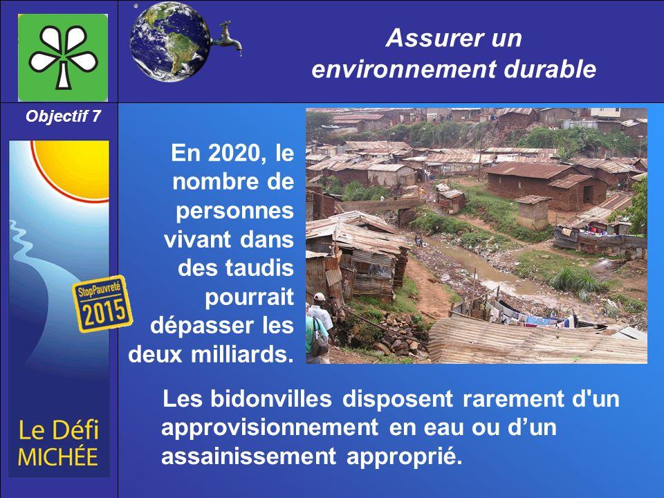 Assurer un environnement durable