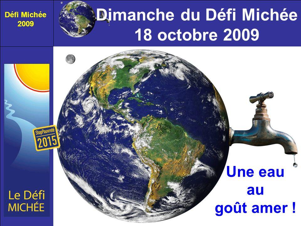 Dimanche du Défi Michée 18 octobre 2009